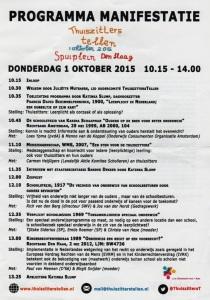 Programma manifestatie