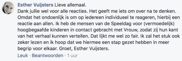 20171108 Esther Vuijsters VROUW Telegraaf